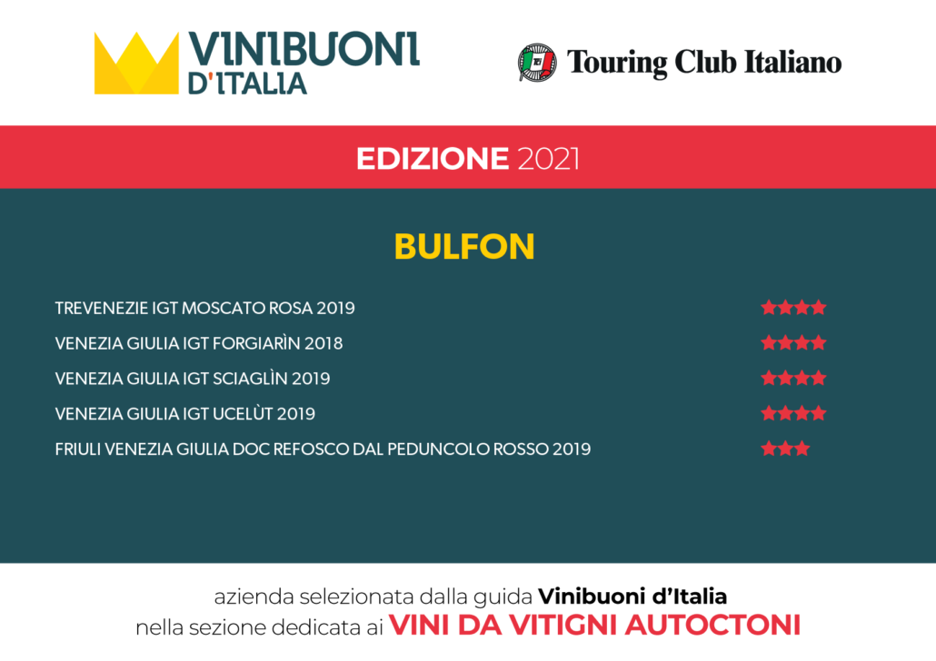 autoctoni vini buoni d'italia 2021